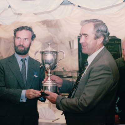 John Cannon receives an award for Environment and Conservation