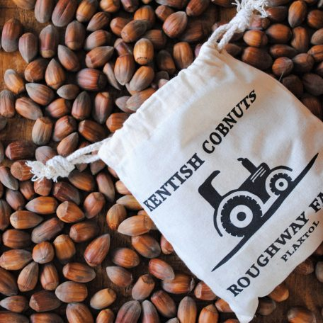 500G Kentish Cobnut Gift Bag with tractor