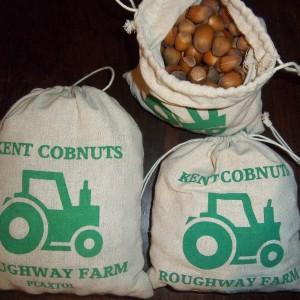 500g – 1Kg: Dehusked Cosford Cobnut Gift Bag – Preorder
