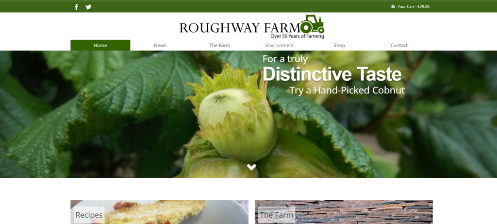 Roughway Farm Online Launched