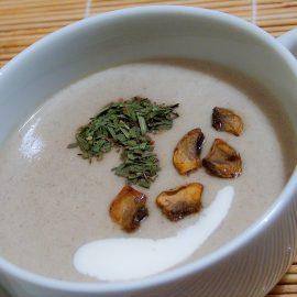 cobnut mushroom soup