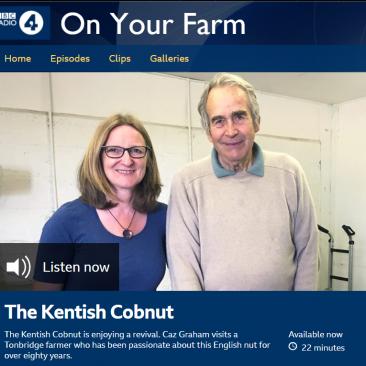 Radio 4, On your farm, Kentish Cobnuts