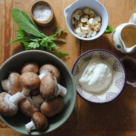 Cobnut Recipe ingredients from above