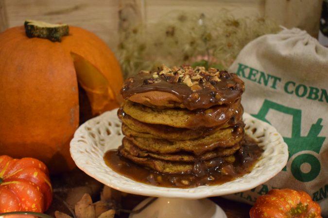 Halloween Kent Cobnut Pancakes