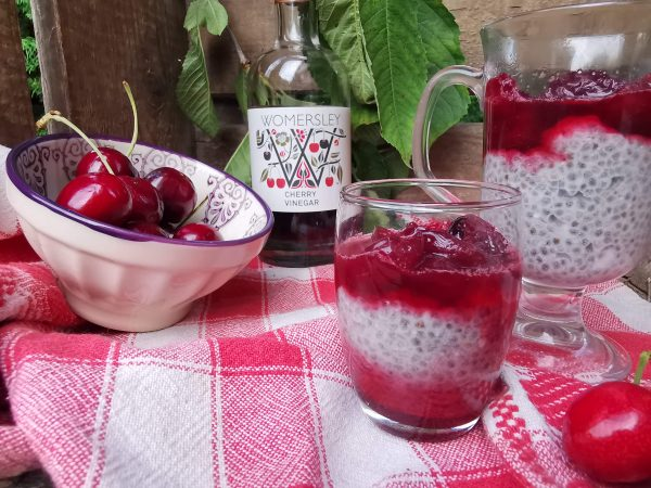 Recipe for Chia coconut and cherry pudding