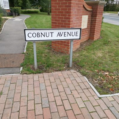 Cobnut Avenue Sign