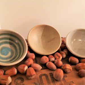 Three handmade Dukkah Bowls