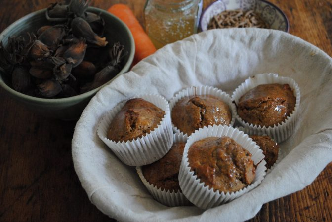 Kentish cobnut muffins recipe
